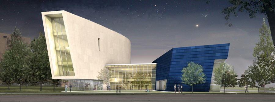 Center for Fine Arts Rendering